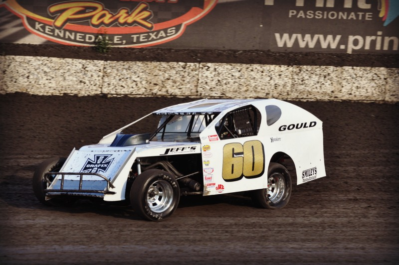 Gould Edges Sobbing In Race For National Imca Modified